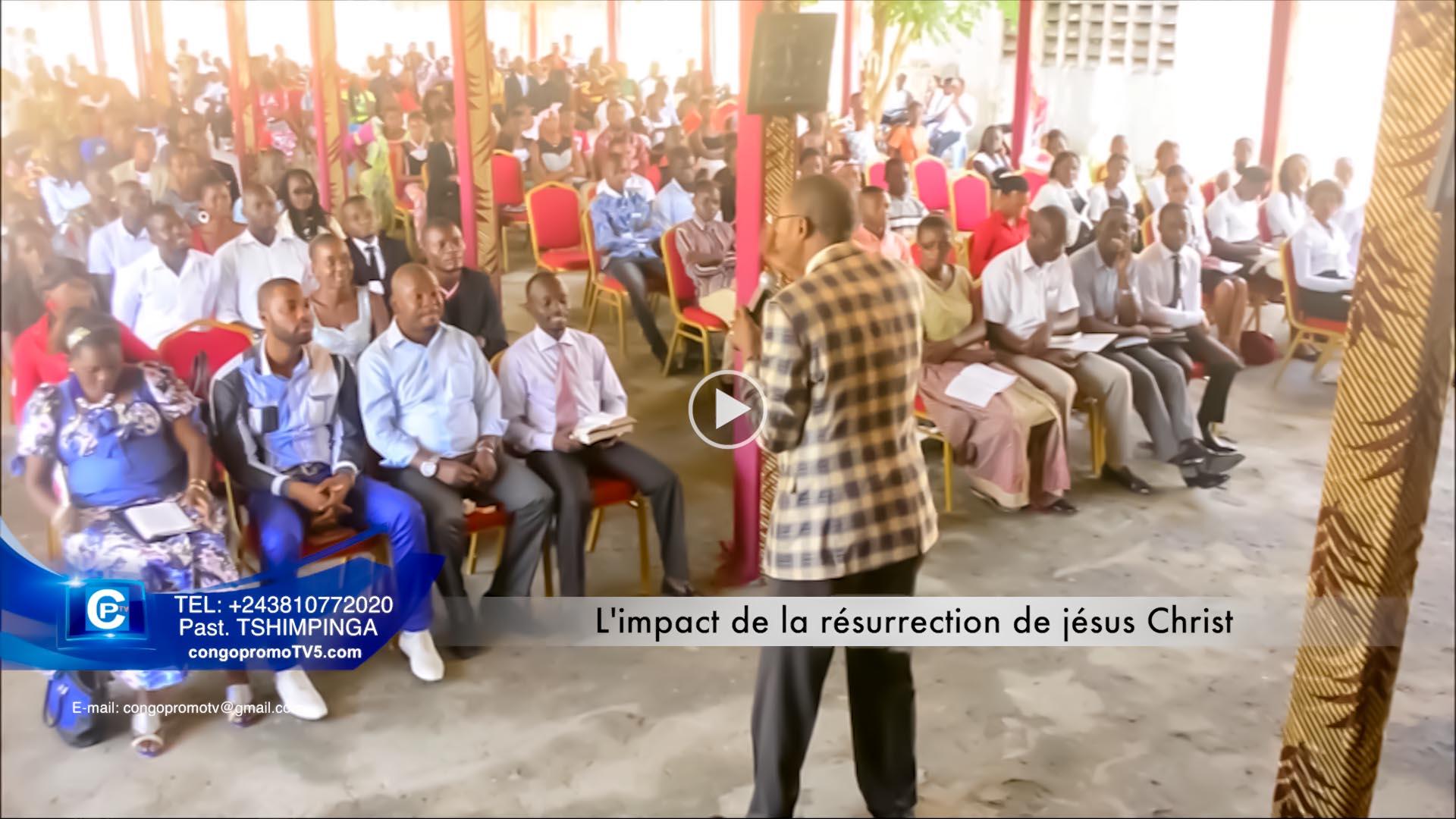 L'impact de la résurrection de jésus Christ copy