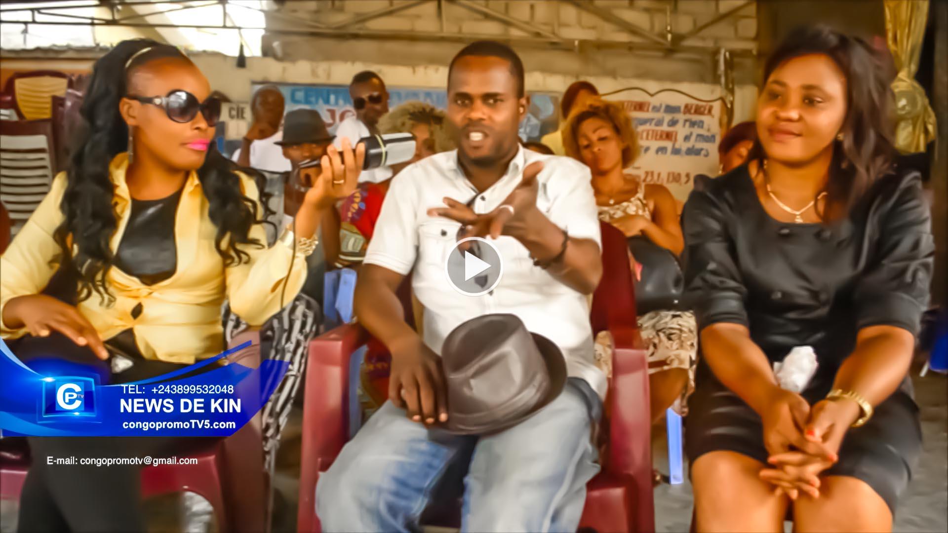 L'artiste comédien Tcheko apanzi ba verite na masolo ya Théâtre ya Congo copy